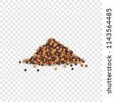 mustard sauces mockup.... | Shutterstock .eps vector #1143564485