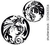dragon   Shutterstock .eps vector #114363316