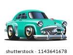 cartoon retro car. available... | Shutterstock .eps vector #1143641678