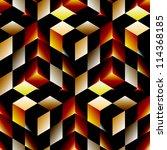 Seamless Mosaic Pattern. Vector ...