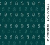 seamless pattern with lock... | Shutterstock .eps vector #1143704618