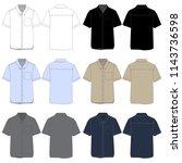 vector template for short...   Shutterstock .eps vector #1143736598
