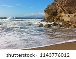 Pacific Coastline With Steps O...