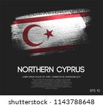 northern cyprus flag made of... | Shutterstock .eps vector #1143788648