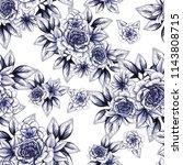 abstract elegance seamless... | Shutterstock .eps vector #1143808715