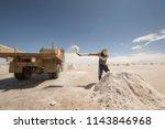 salar de uyuni is the world's... | Shutterstock . vector #1143846968