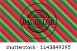 bachelor christmas colors style ...   Shutterstock .eps vector #1143849395