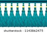 seamless border pattern ...   Shutterstock .eps vector #1143862475