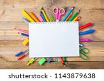 back to school concept. school...   Shutterstock . vector #1143879638