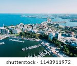 aerial view of constanta city... | Shutterstock . vector #1143911972