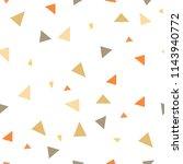 triangle seamless pattern.... | Shutterstock .eps vector #1143940772