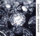 shining diamonds   Shutterstock . vector #114395242