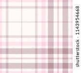 Plaid Pattern In Pink  Faded...