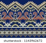 seamless wide horizontal ... | Shutterstock .eps vector #1143962672
