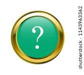 interrogation symbol classic in ... | Shutterstock .eps vector #1143963362