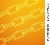 wireframe blockchain links.... | Shutterstock . vector #1143999638