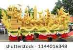 july 28  2018 in ubon... | Shutterstock . vector #1144016348