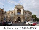 odessa  ukraine  august 23 ... | Shutterstock . vector #1144041275