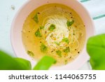 Healthy Chicken Soup With Basil