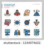 startup icon set | Shutterstock .eps vector #1144074632