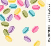 vector illustrator of colorful... | Shutterstock .eps vector #1144110722