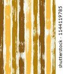 smeared watercolor brush... | Shutterstock .eps vector #1144119785
