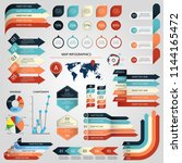 infographic graphic business... | Shutterstock .eps vector #1144165472