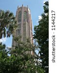 Historic Bok Tower In Winter...