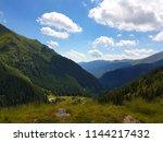 view of the carpathian... | Shutterstock . vector #1144217432