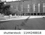 zaragoza  spain   august 14 ...   Shutterstock . vector #1144248818