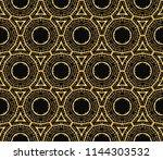 seamless geometric pattern....   Shutterstock . vector #1144303532