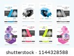 abstract vector business...   Shutterstock .eps vector #1144328588