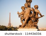 pont alexandre iii   bridge in... | Shutterstock . vector #114436036