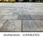 perspective view monotone gray... | Shutterstock . vector #1144361522