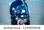 iot  internet of things ... | Shutterstock . vector #1144405658