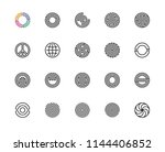 geometric shape  circle  logo ... | Shutterstock .eps vector #1144406852