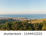 panoramic view of san benedetto ... | Shutterstock . vector #1144412222