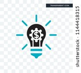 fintech innovation vector icon... | Shutterstock .eps vector #1144418315