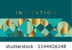 geometric luxury bright motif... | Shutterstock .eps vector #1144426148