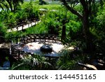 botswana  the fireplace of jao...   Shutterstock . vector #1144451165