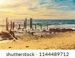 port willunga beach view at... | Shutterstock . vector #1144489712