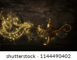 image of magical mysterious... | Shutterstock . vector #1144490402