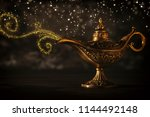 image of magical mysterious... | Shutterstock . vector #1144492148