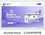 beautiful landing page website...