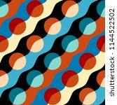 seamless geometric pattern.... | Shutterstock .eps vector #1144522502