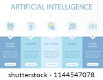artificial intelligence web... | Shutterstock .eps vector #1144547078
