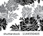 elegant seamless pattern with... | Shutterstock .eps vector #1144550405