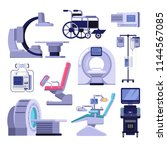 medical diagnostic and... | Shutterstock .eps vector #1144567085
