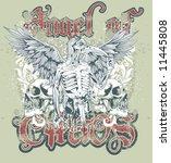t shirt design | Shutterstock .eps vector #11445808