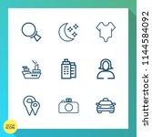 modern  simple vector icon set...   Shutterstock .eps vector #1144584092